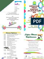 Buku Program Sukan 2015