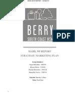 MARK395 Strategic marketing report