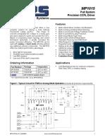 MP1015 datasheet