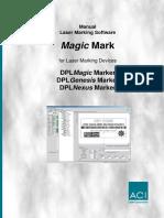Software Manual DPL Magic Marker