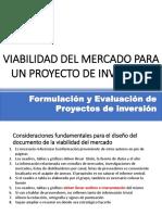 2. Viabilidad Del Mercado Para Un Proyecto de Inversión