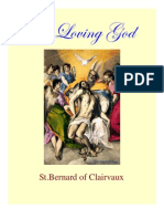 St. Bernard of Clairvaux-On Loving God