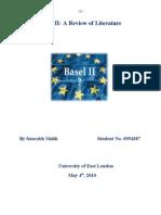 Critical analysis of Basel II banking regulation