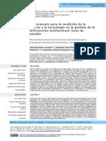 5Instrumento p Medición de Ciencia y Tecnología en La Gestión