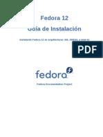 Guia de Instalacion de Fedora 12