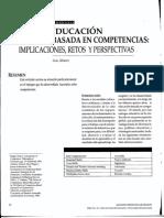 - Educación Basada en Competencias. Implicaciones, Retos y Perspectivas