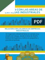 1.7 Relacion Con Las Áreas de Empresas Industriales