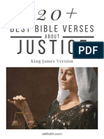 120+ Best Bible Verses About Justice