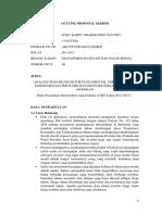 Outline Proposal Skripsi Harga Saham