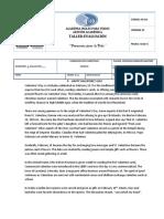 Taller, Evaluación y Guía 1