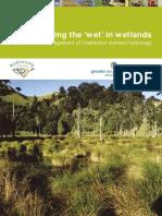 Wetland Hydrology