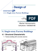 4 Single-story Factory Buildings