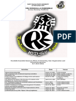 Activities Sheet Rondalla