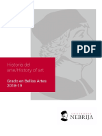 Historia del Arte - Universidad Nebrija