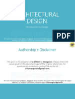 01_Introduction to Architectural Design
