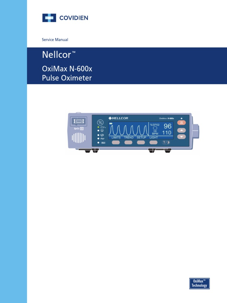 Nellcor N600X Oximax | Electrostatic Discharge | Technology