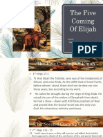 5 Coming of Elijah