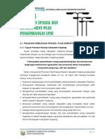 Bab 3 Kebijakan Spasial Dan Development Plan Pegemb Lpju