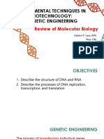 2_Review of Molecular Biology_HANDOUT