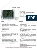 Si-813 Digital Thermohygrometer w Probe