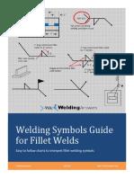 Welding Symbols Guide for Fillet Welds