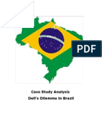 Case Study Analysis Dell's Dilema in Brazil
