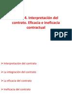 Tema 4_Interpretación del contrato. Eficacia e ineficacia contractual.pdf