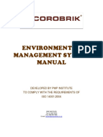 Corobrik Environmental Management Manual