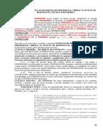 Contrato de Prestacao de Servicos Profissionais - Responsavel Tecnico Pela Empresa - Crea 2019