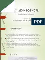 Otitis Media Eosinofil