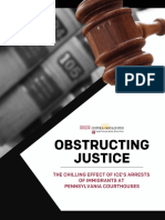 Obstructing Justice