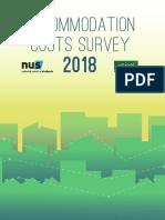 Accommodation Cost Survey