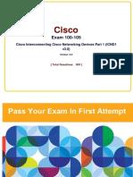 Cisco Full 100-105