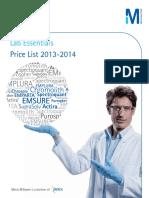 Merck Price List 2013-14