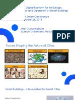 An Integrated Digital Platform for the Design Implementation and Operation of Smart Buildings by Dr Hari Gunasingham