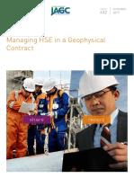 432.01 Managing HSE in a Geophysical Nov 2017