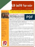 Gazette GD InFO Savoie Janvier 2019