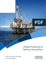Croda Production & Refinery Demulsifiers Brochure