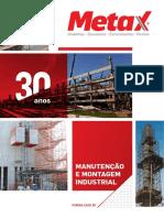 Catalago Montagem Industrial e Manutenção