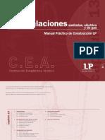 Manual Práctico de Construcción  INSTALACIONES