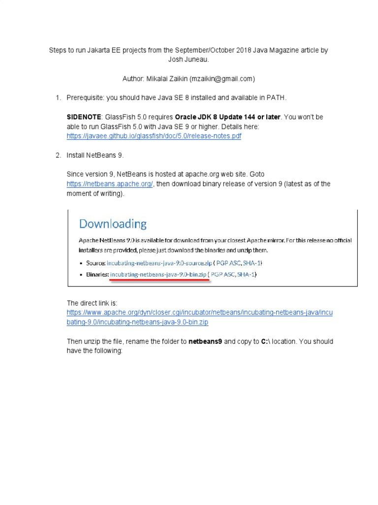 2018-09-Jakarta EE 8 Article Steps