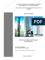 Master Thesis on Steel Chimneys
