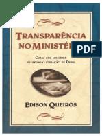 Edison Queiroz - Transparência No Ministério