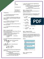 MTB Formative Test 4th Quarter Week 2