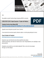 CURSO_Projeto Executivo + Projeto de Prefeitura