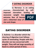 Kinds of Eating Disorder Pp