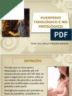 Aula 10 Puerpério Normal e Patológico
