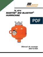 Manual Hurricane M3737ES