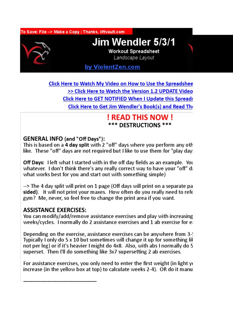 Jim Wendler 5 3 1 Read This Now Management Of Obesity Hobbies
