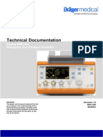 DRAGER Oxylog 2000+ Ventilator Service Manual